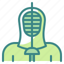 fencing, foil, saber, sports, swords icon