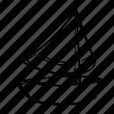 boat, sailor, ship, sport icon