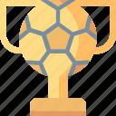award, cup, football, soccer, sport, trophy, winner icon