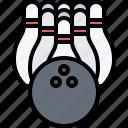 ball, bowling, equipment, games, olympic, skittles, sport