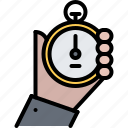 equipment, games, hand, olympic, sport, stopwatch icon