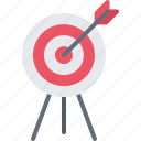 archery, arrow, equipment, games, olympic, sport, target icon