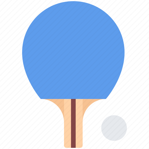 equipment, games, olympic, racket, sport, table, tennis icon