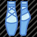 ballet, dancing, feet, footwear icon
