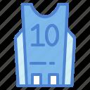 basketball, jersey, shirt, sports, team icon
