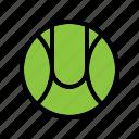 ball, baseball, sport, tennis