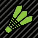 badminton, ball, game, racket icon