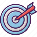 archery, olympic, target, bow, sport, crossbow icon
