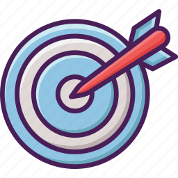 archery, bow, crossbow, olympic, sport, target icon