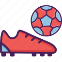 field, soccer, stadium, shoes, football icon