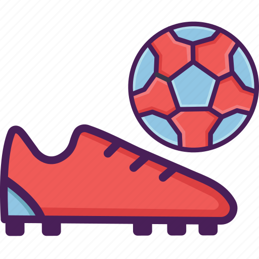 field, football, shoes, soccer, stadium icon