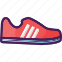 athlete, casual, run, running, shoes icon