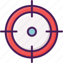 olympic, shooting, target, gun, activity, sport icon