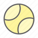 ball, game, play, sport, tennis, tennis ball icon
