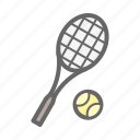 game, play, sport, tennis, tennis ball, tennis racket icon