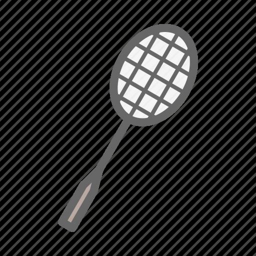 bedminton, bedminton racket, game, play, racket, sport icon