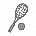 game, play, racket, ricochet, sport, squash, squash racket icon