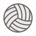 beach, beach volleyball, game, play, sport, volleyball icon