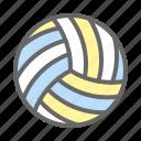 ball, beach, beach volleyball, game, play, sport, volleyball