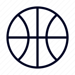 ball, basketball, sport, ui icon