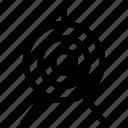 archery, bowman, sport, target icon