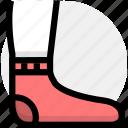 feet, sport, standing icon