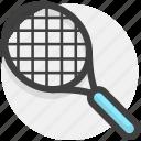 race, racket, sport, sports icon
