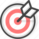archer, archery, game, race, sport, target icon