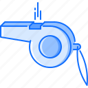 fitness, gym, sound, sport, training, whistle icon