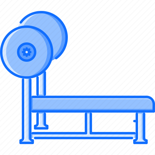 Barbell, bench, fitness, gym, press, sport, training icon - Download on Iconfinder