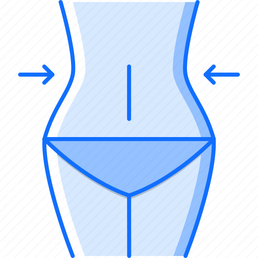 Fitness, gym, losing, sport, training, waist, weight icon - Download on Iconfinder