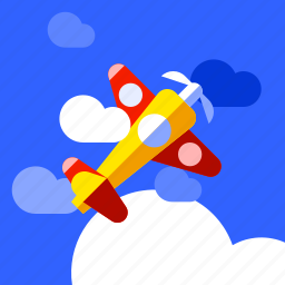 air, air race, airplane, play, race, sport icon