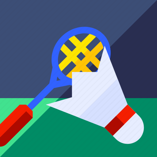 badminton, ball, equipment, game, racket, sport icon