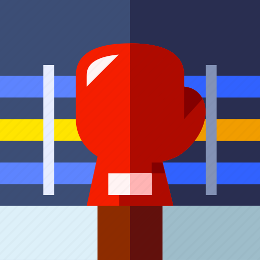 boxing, glove, play, sport icon