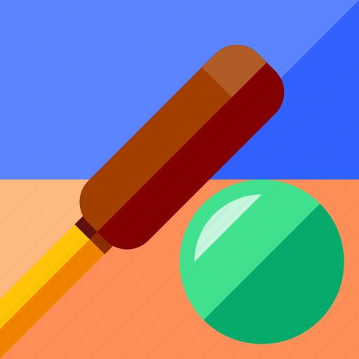 ball, cricket, equipment, game, play, sport icon
