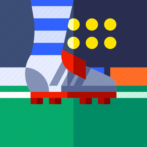 ball, football, footwear, game, shoes, soccer, sport icon