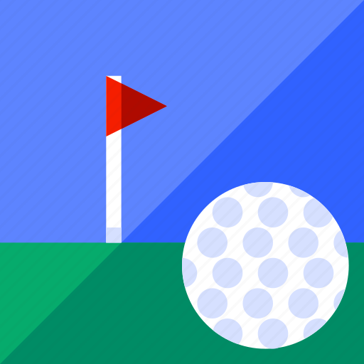 ball, game, golf, land, play, sport icon