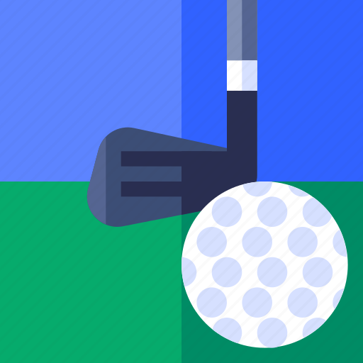 ball, fitness, game, golf, play, sport, stick icon