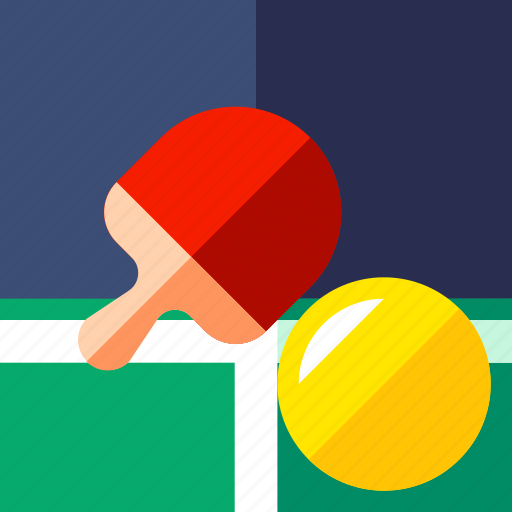ball, equipment, fitness, game, pingpong, sport icon
