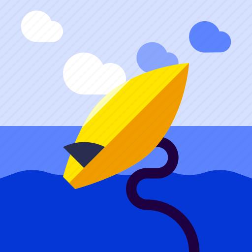 board, equipment, health, sport, surfing icon