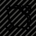 arc, arrow, bow, game, sport icon