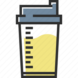 milk, mix, protein, protein shake icon