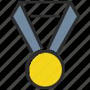 medal, award, prize, winner