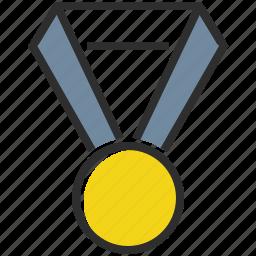 award, medal, prize, winner icon