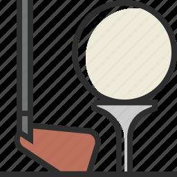 ball, game, golf, sport icon