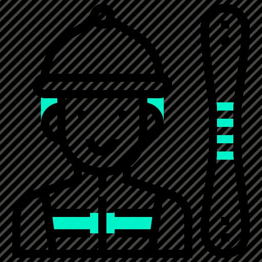 Avatar, boy, man, ski, sport, sportsman icon - Download on Iconfinder