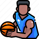 avatar, basketball, man, people, player, sports