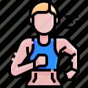 exercise, jogging, man, runner, running, sport