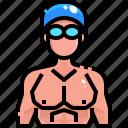 avatar, sport, swimmer, swimming
