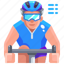 bike, cycling, cyclist, ride, riding, sport icon
